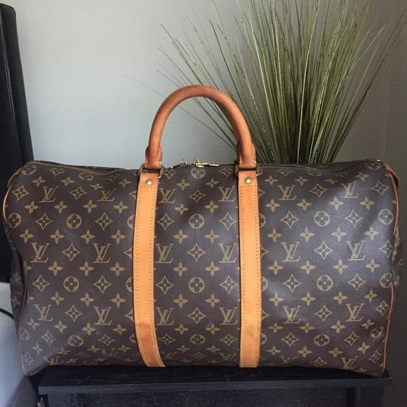 184ceeac1de9 Louis Vuitton Handbags - Authentic Louis Vuitton Keepall 50
